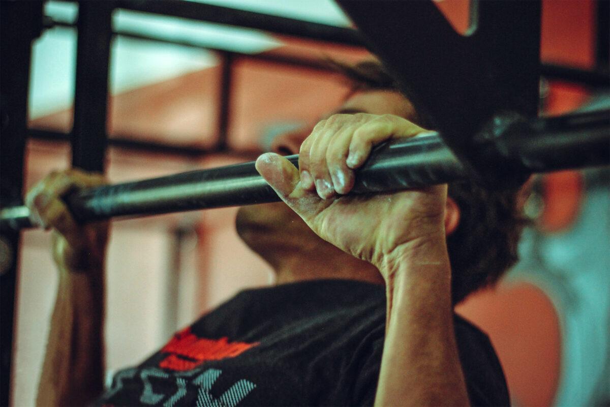 Shyb, základní cvik na záda